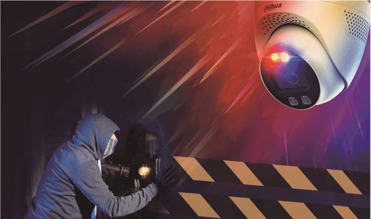 Deterrente più efficace contro gli intrusi (Three-in-One Camera TiOC) Dahua